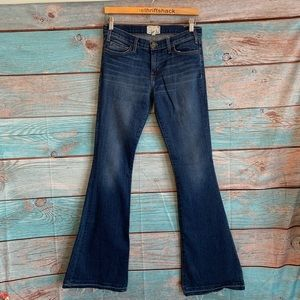Current Elliot Flare Wide Leg Jeans Size 27